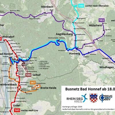 Liniennetz Bad Honnef ab 2021 08 18 ©Rhein-Sieg-Kreis